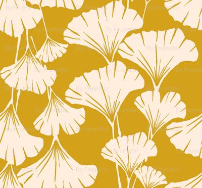 Royal Ginkgo - mustard yellow-