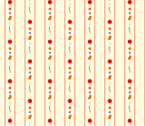 vll_stuff_in_my_other_pocket_background_stripe fabric by victorialasher on Spoonflower - custom fabric