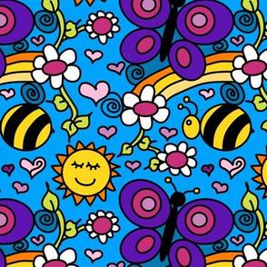 Happy Garden - Purpleibis