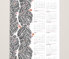 arborvitae calendar towel
