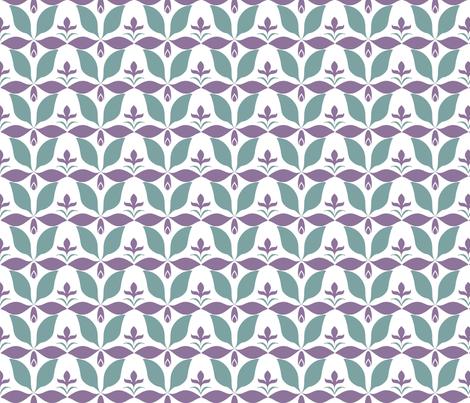 dusty_floraljpg fabric by vo_aka_virginiao on Spoonflower - custom fabric