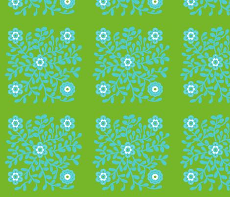 power_flowergreen_new fabric by nadja_petremand on Spoonflower - custom fabric