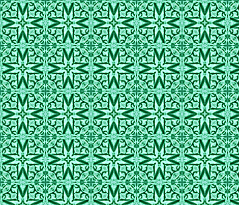 crop_b_star_power_invertrose__green_Picnik_collage fabric by khowardquilts on Spoonflower - custom fabric