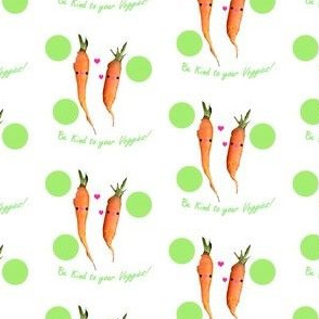 Be kind to your veggies!