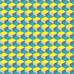 Q-bert-blue-distorted