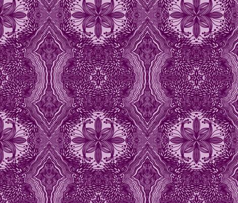 JamJax Violetta fabric by jamjax on Spoonflower - custom fabric