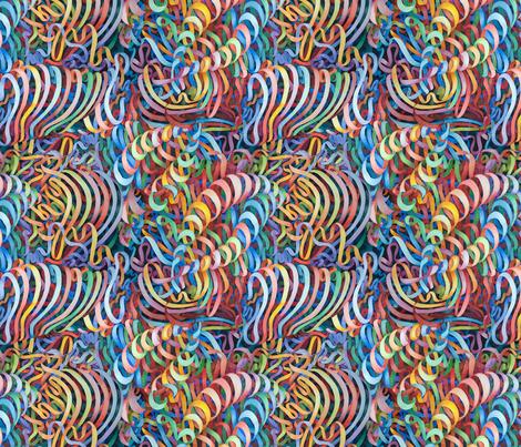 Organized Chaos fabric by helenklebesadel on Spoonflower - custom fabric
