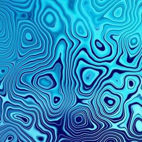 blue concentrics