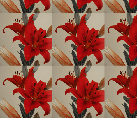 redbloom fabric by oigd on Spoonflower - custom fabric