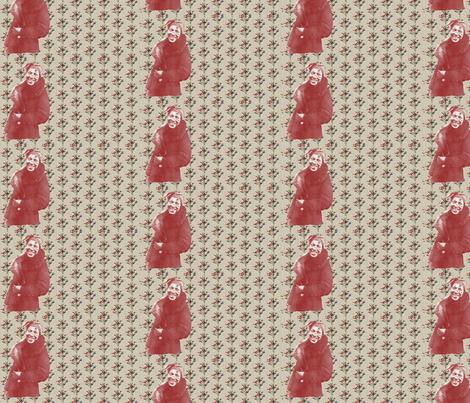Zora Neale Hurston and Bottle Trees-128 fabric by kkitwana on Spoonflower - custom fabric