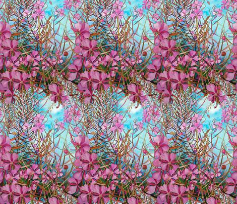 Alaskan Fireweed fabric by helenklebesadel on Spoonflower - custom fabric