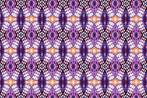 stain glass mars fabric by dalmars222 on Spoonflower - custom fabric