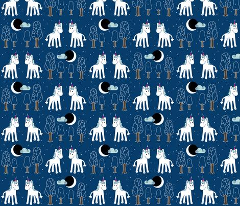 Einhorn fabric by hollihoop on Spoonflower - custom fabric
