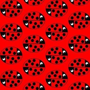 nyckelpigeboll_röd