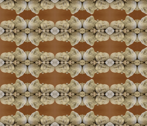 heads up again fabric by zomo on Spoonflower - custom fabric
