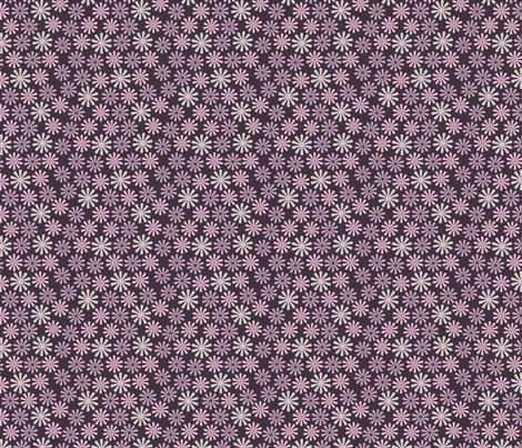 Lil Flowers (3:3) fabric by katherina_london on Spoonflower - custom fabric
