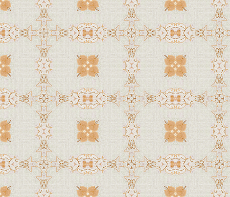 Linen_Embroidery fabric by ddmote on Spoonflower - custom fabric