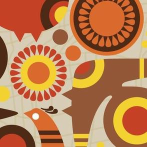 birds and flowers-beigeback-LARGE