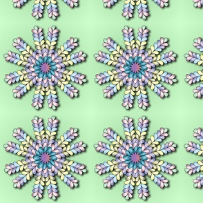 Quiltfeathers Snowflake