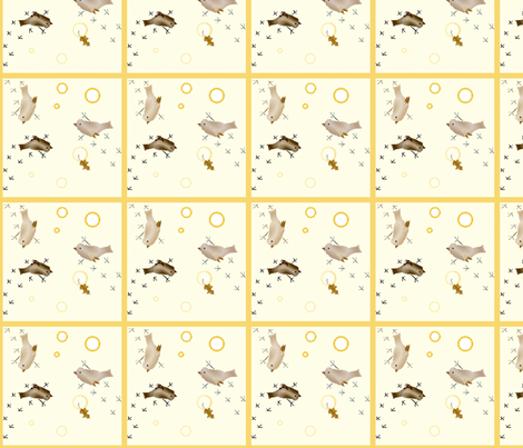 Birdies_Make_Tracks fabric by ddmote on Spoonflower - custom fabric