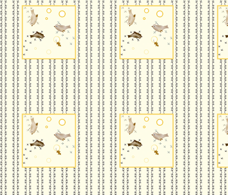Birdy_Tracks_too fabric by ddmote on Spoonflower - custom fabric
