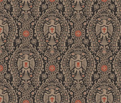 Damask 3 Alternate a fabric by muhlenkott on Spoonflower - custom fabric