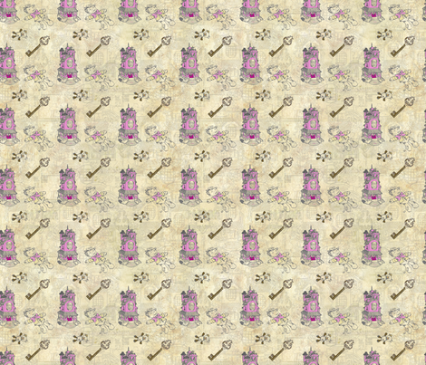 Doll House fabric by ctong on Spoonflower - custom fabric