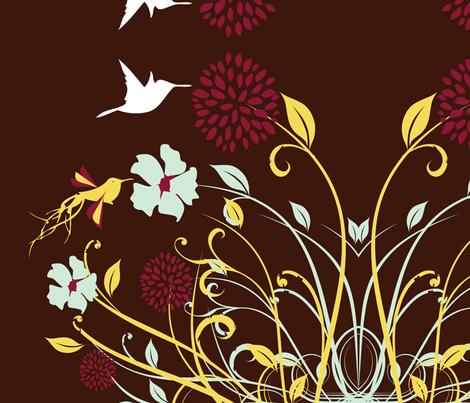 birdfabric12-09 fabric by carey_perez on Spoonflower - custom fabric
