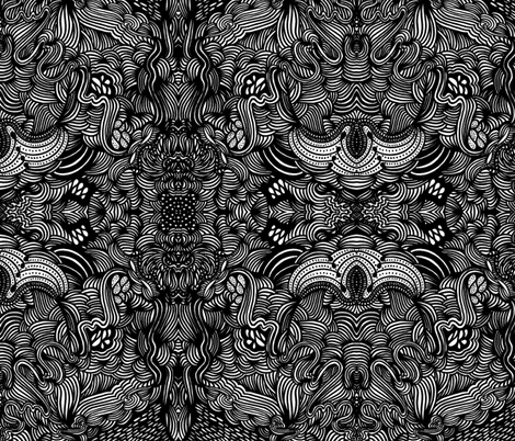 JamJax Voo Doo fabric by jamjax on Spoonflower - custom fabric