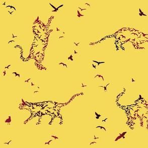 Illusive flocks - Copyright LdJ design 2010