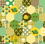 Green Hexagon