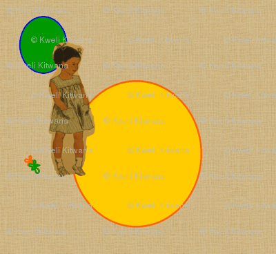 Lovely Girl-African American-135