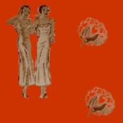 Blues Ladies-Orange-140