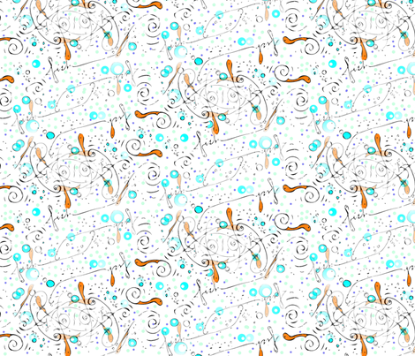 Little_Fish fabric by ddmote on Spoonflower - custom fabric