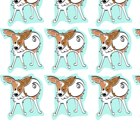 Finn Mc Cool  fabric by mackerilla on Spoonflower - custom fabric