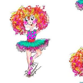 Dancing Sophia  Ballerina doll by Rosanna Hope for Babybonbons