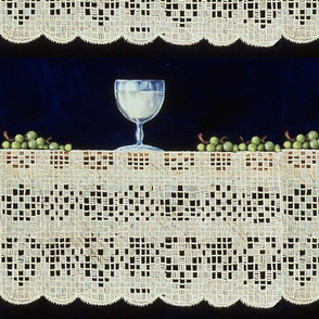 Lace, Grapes and Wine