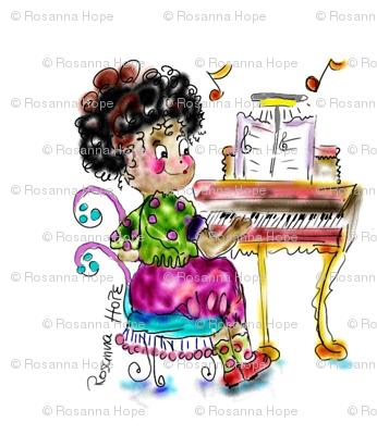 Musical Amanda  , LA LA LA, by Rosanna Hope