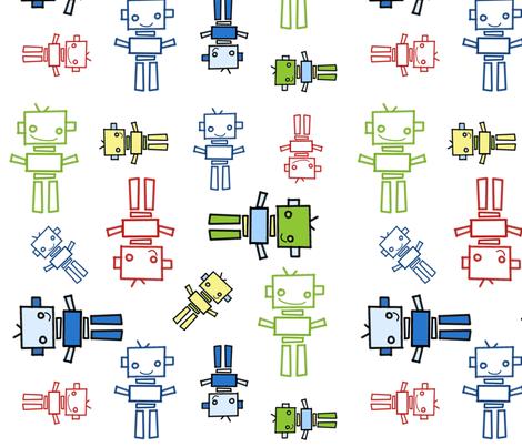 fabric_robots_2 fabric by emilyb123 on Spoonflower - custom fabric