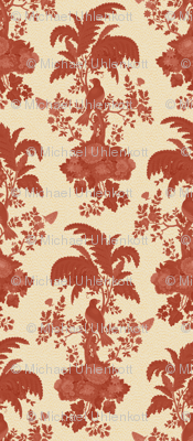 Parrot Forest Toile