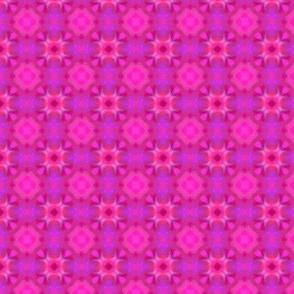 Folk fuchsia pattern