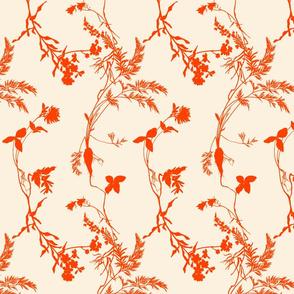 orange florae