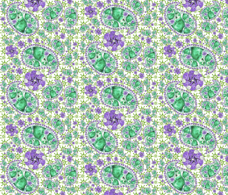 Regretsy_Paisley fabric by greencellist on Spoonflower - custom fabric