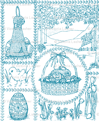 Easter_mini_toile_blue