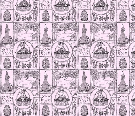 Reaster_mini_toile_black_on_pink_shop_preview