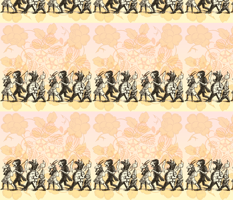Animal Parade  fabric by jenithea on Spoonflower - custom fabric