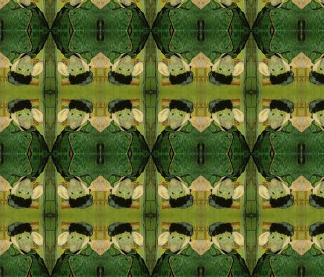 Regretsy Vangoghlephant 2 fabric by theladyrobin on Spoonflower - custom fabric