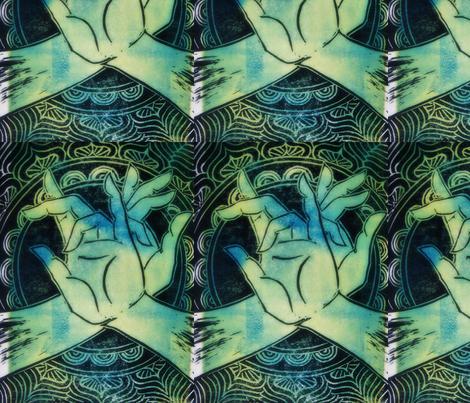 goodbye evil eye fabric by emilyvalenza on Spoonflower - custom fabric