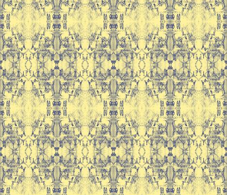 San Marco Toile fabric by emilyvalenza on Spoonflower - custom fabric