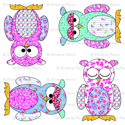 Feedsack Owls